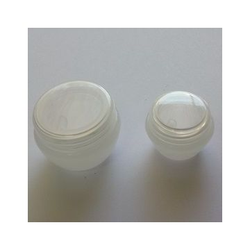Tarro 10ml polipropileno color natural, con tapa rosca y obturador.