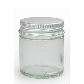 Tarro de cristal con tapa de aluminio de 30ml