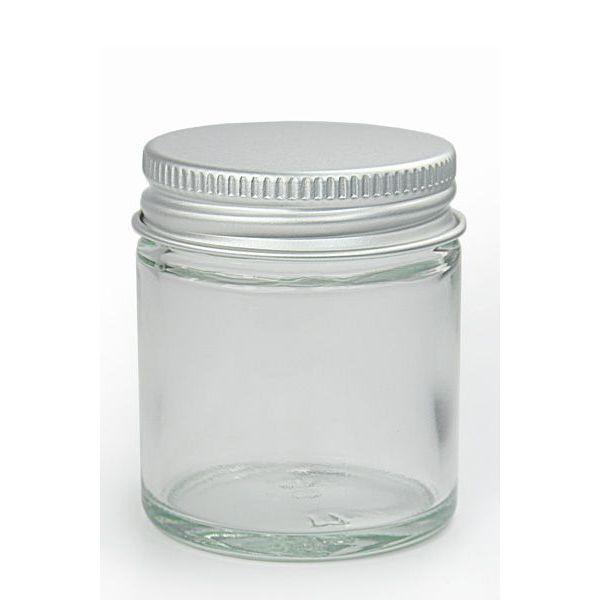 Tarro de 30ml de cristal con tapa de aluminio - Tarro cristal con tapa ...