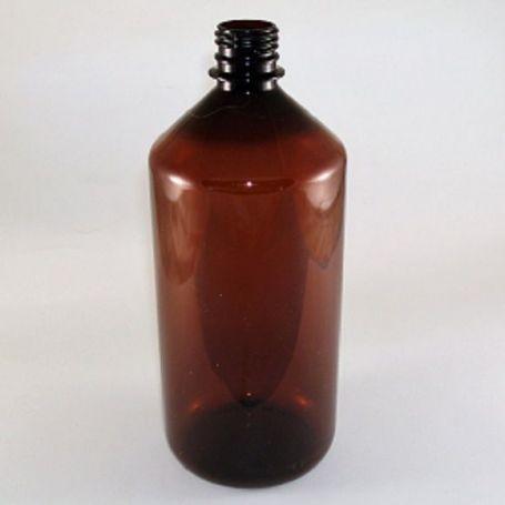 Botella de 1L Plástico Pet Ambar