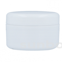 Tarro 10ml Blanco con tapón rosca blanco